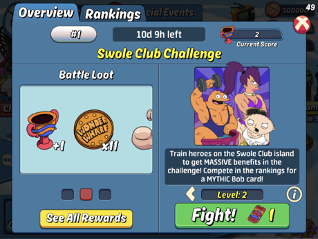 Swole Club and Swole Challenge – Animation Throwdown: The